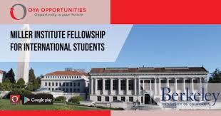 Miller Fellowship at Berkeley για τον απόφοιτο του ΠΠ κ. Φραγγεδάκη